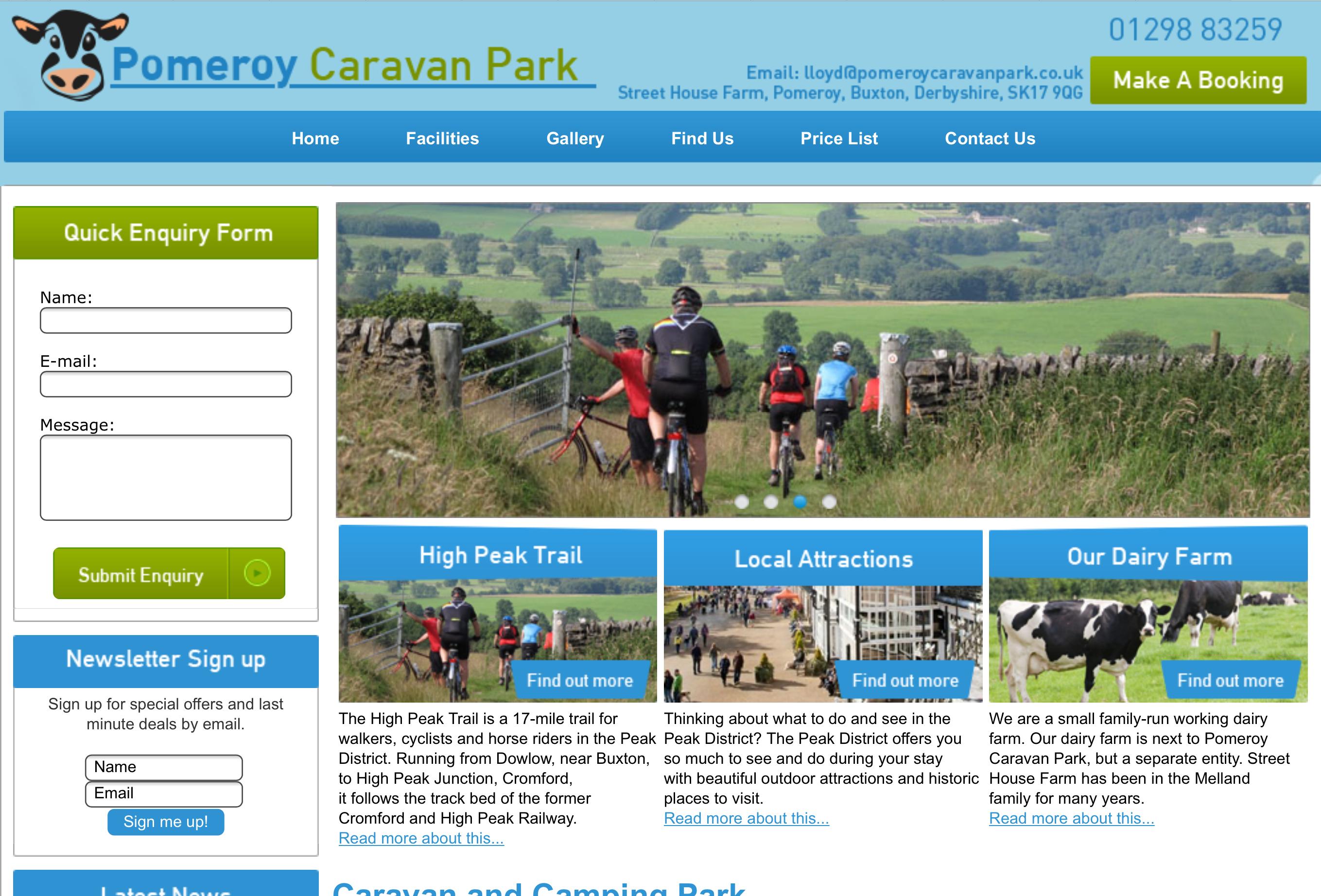 Pomeroy caravan park