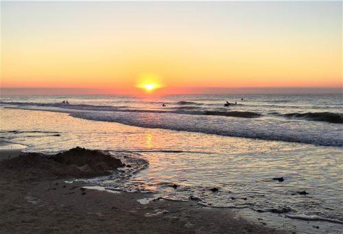 brancaster sunset