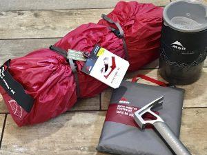 MSR Mutha Hubba NX tent 1