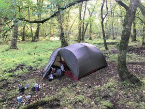 MSR Mutha Hubba NX tent 2
