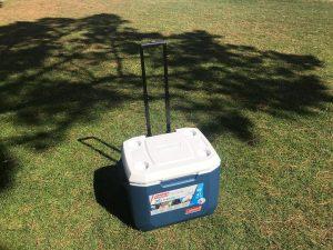 coleman wheeled cool box
