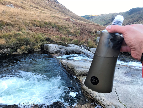 Isle of Arran again. Nothing like ice cold fresh spring water.