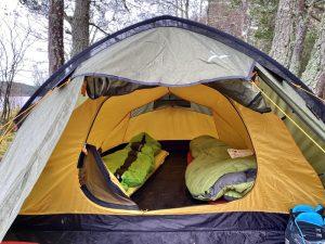 OEX Jackal III Lightweight Tunnel Design 3-Person Tent